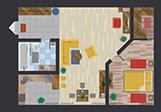 1 - 2 Bedrooms